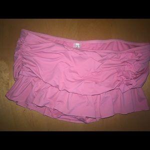 Kenneth Cole New York Favorite Pink Swim skirt